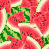 Seamless pattern with watermelon. Vector illustration Royalty Free Stock Image