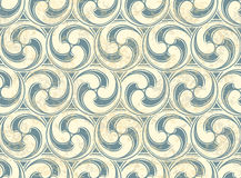 Seamless pattern with waves. Vintage vector Seamless pattern with waves eps 10 Royalty Free Stock Photography