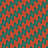 Seamless pattern waves. Stock Photography