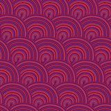 Seamless pattern with waves. Seamless wave hand-drawn pattern, waves background (seamlessly tiling).Can be used for wallpaper, pattern fills, web page Stock Photo
