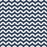 Seamless pattern with waves Royalty Free Stock Photos