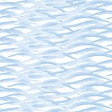 Seamless pattern waves. Watercolor paint. Sea theme. Abstract background, wave texture Stock Photos