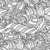 Seamless Pattern from wavesvector Royalty Free Stock Images