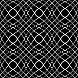 Seamless pattern. Wavy lines texture. Royalty Free Stock Photography