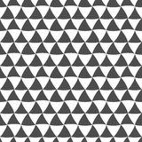 Seamless pattern of wavy triangles. Abstract background. Royalty Free Stock Images