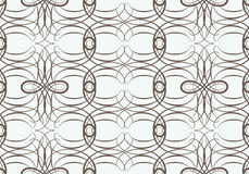 Seamless pattern with weaving circle mesh Stock Photo