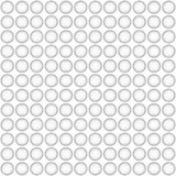 Seamless pattern whit gray circles Royalty Free Stock Photo