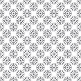 Seamless pattern whit gray flowers Stock Photo