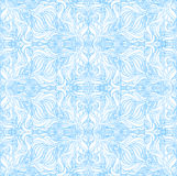 Seamless pattern on a white background. Seamless blue pattern on a white background Stock Photo