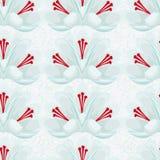 Seamless pattern.  white background with white crocuses.saffron . Stock Image