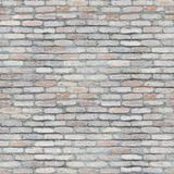 Seamless pattern of white brick wall abstract tileable texture royalty free stock photos