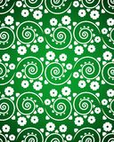 Seamless pattern with white flowers Royalty Free Stock Image