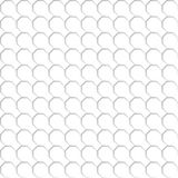 Seamless pattern of the white octagon net. Transparent background. EPS 10 Stock Photo