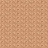 Seamless pattern wicker cherry wood color. Stock Photography