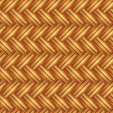 Seamless pattern wicker light straw color. Royalty Free Stock Photos