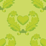 Seamless pattern wiht heart Royalty Free Stock Photo