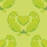 Seamless pattern wiht heart Royalty Free Stock Photo