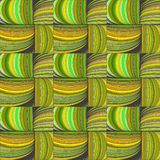 Seamless pattern of willow twigs, basket weaving. royalty free illustration