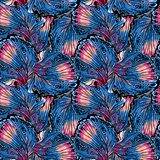 Seamless pattern with wings butterflies.Colorful illustration. Perfectly suitable for the design of fabrics, textiles. vector illustration