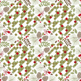 Seamless pattern, winter, autumn Stock Image