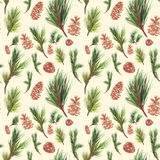Seamless pattern for winter holidays design Royalty Free Stock Photo