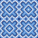Seamless pattern with winter motif Stock Photo