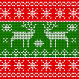Seamless pattern on winter theme Stock Photo