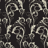Seamless Pattern With Abstract Branches Royalty Free Stock Image