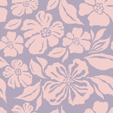 Seamless Pattern With Decorative Ornamental Flower Stock Image