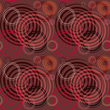 Seamless Pattern With Spiral Elements. Stock Images