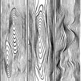 Seamless pattern wood Stock Images