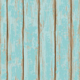 Seamless pattern of wooden boards. Seamless pattern of old blue painted wooden boards Stock Image