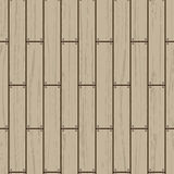 Seamless pattern with wooden floor on afterdeck. Royalty Free Stock Image