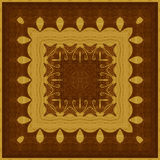Seamless pattern, wooden marquetry Royalty Free Stock Image