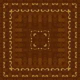 Seamless pattern, wooden marquetry Royalty Free Stock Images