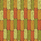 Seamless pattern wooden planks Royalty Free Stock Photography