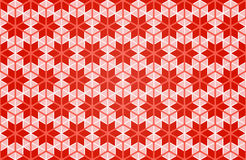 Xmas blocks. Seamless pattern with xmas ornament red background. , abstract snowflakes, fashion wallpaper. Christmassy decorative backdrop. festive, fabric Royalty Free Stock Photography