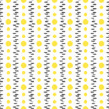Seamless pattern with yellow dots. Vector illustration. Seamless pattern with yellow dots texture. Vector illustration Stock Photography