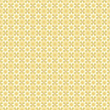 Seamless pattern with yellow and light stars on tan (beige) back Stock Photography