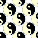 Seamless pattern yin yang Japan. vector illustration. Seamless pattern yin yang Japan vector illustration Royalty Free Stock Photo