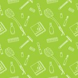 Zero waste pattern stock illustration