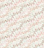 Seamless  pattern of a zigzag stripes Stock Images