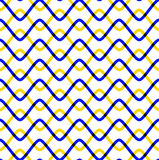 Seamless pattern with zigzags Stock Image
