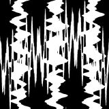 Seamless pattern of zigzags Stock Image
