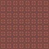 Seamless patterned fabric Stock Photography