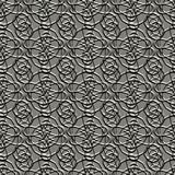 Seamless patterned foil. Good texture for background replicate Stock Image
