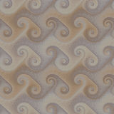 Seamless patterned scrolls Stock Photography