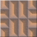 Seamless patterned texture Stock Image