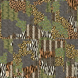 Seamless patterned texture Stock Photo