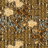 Seamless patterned texture Royalty Free Stock Photos